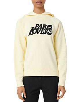 Maje - Talinou Embroidered Sweatshirt