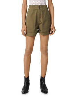 Maje - Idole Mini Utility-Inspired Shorts
