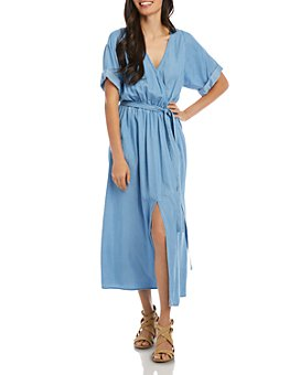 Karen Kane - Belted Denim Dress