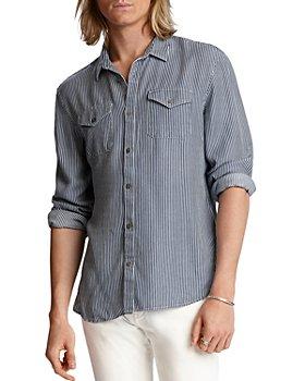 John Varvatos Star USA - Dale Stripe Regular Fit Button-Down Western Shirt