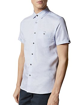 Ted Baker - Ted Baker Have Fun Cotton-Linen Shirt