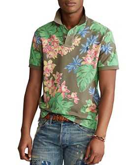 Polo Ralph Lauren - Custom Slim Fit Floral Polo Shirt