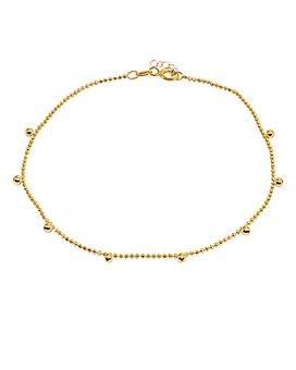 AQUA - Bead Charm Ball-Chain Ankle Bracelet - 100% Exclusive