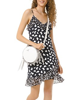 MICHAEL Michael Kors - Dancing Petals Ruffled Slip Dress