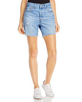 Levi's - 501 Cotton Cutoff Shorts
