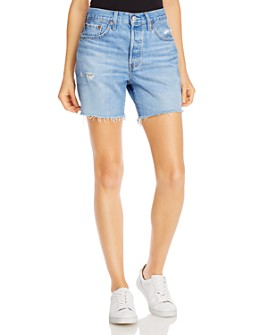 Levi's - 501 Cotton Cutoff Shorts