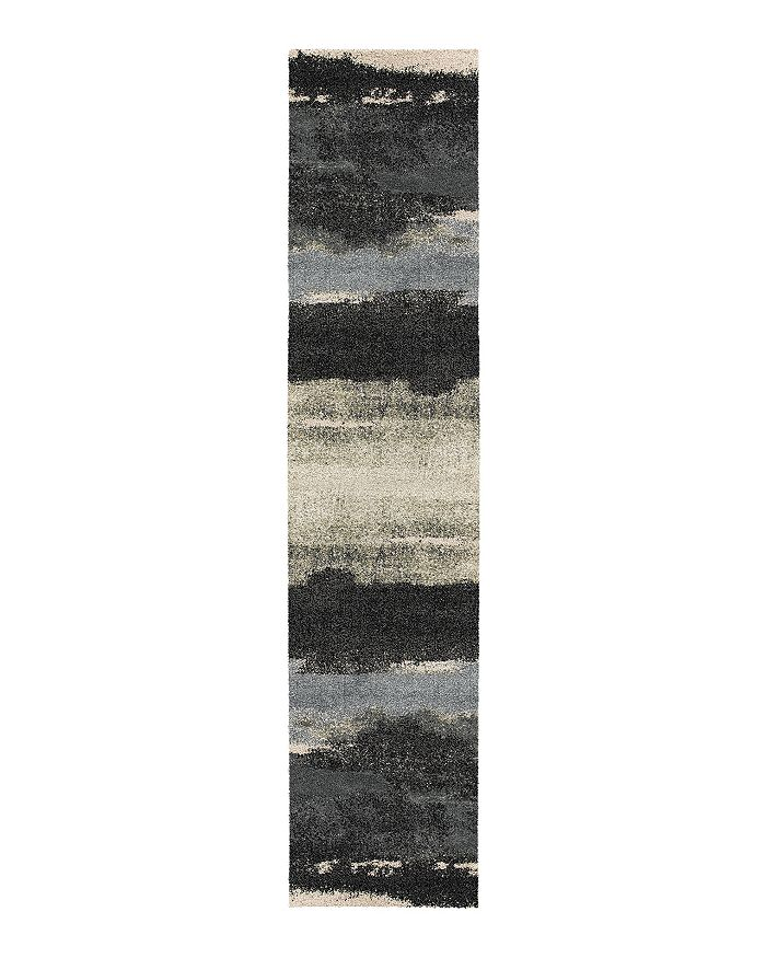 Palmetto Living Mystical Canyon Runner Rug, 2'3 X 8'0 In Muted Blue