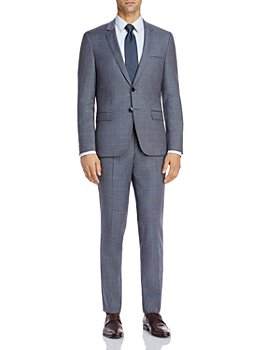 HUGO - Astian & Hesten Tonal Plaid Extra Slim Fit Suit Separates