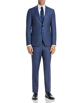 HUGO - Astian & Hets Sharkskin Plaid Extra Slim Fit Suit Separates