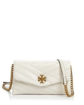 Tory Burch - Kira Chevron Mini Leather Chain Wallet