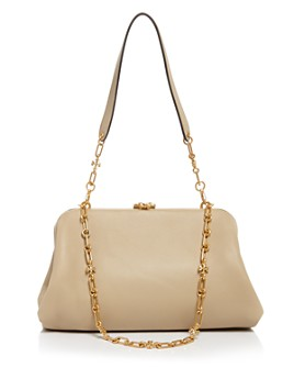 Tory Burch - Cleo Medium Leather Shoulder Bag