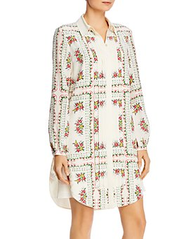Tory Burch - Cora Silk Shirtdress