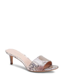 kate spade new york - Women's Savvi Slip On Mid-Heel Sandals