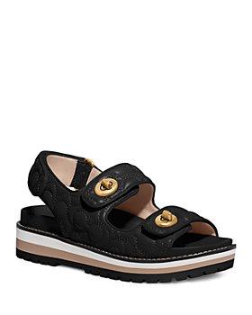 COACH - Women's Kacie Signature Sandals