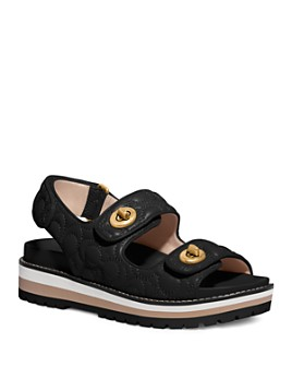 COACH - Women's Kacie Signature Sandals
