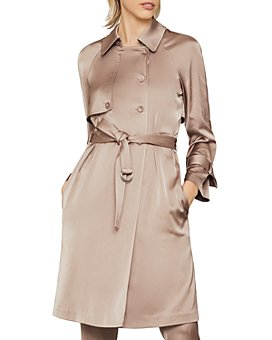 BCBGMAXAZRIA - Belted Trench Coat