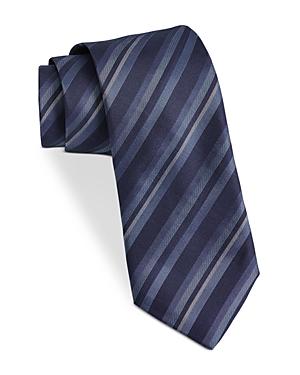 John Varvatos Star Usa Filmore Diagonal Multi Stripe Silk Classic Tie-Men