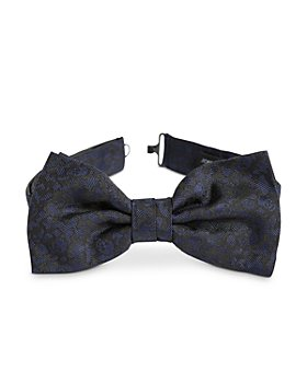 John Varvatos Star USA - Scattered Skull Silk Bow Tie