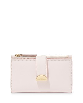 MARC JACOBS - Medium Flat Leather Bi-Fold Wallet