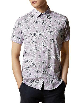 Ted Baker - Ted Baker Bonfire Slim-Fit Floral Print Shirt