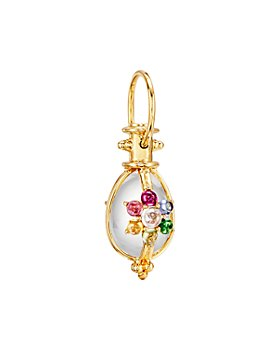 Temple St. Clair - 18K Yellow Gold Stella Amulet Multi-Gemstone