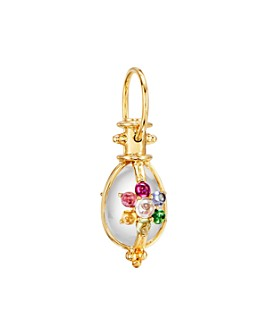 Temple St. Clair - 18K Yellow Gold Stella Amulet Multi-Gemstone