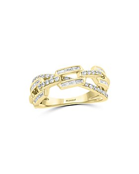 Bloomingdale's - Diamond Link Statement Ring in 14K Yellow Gold, 0.45 ct. t.w. - 100% Exclusive