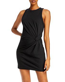 alexanderwang.t - Heavy Soft Jersey Twist Dress