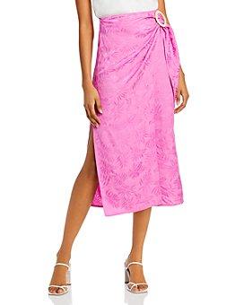 WAYF - Juno Wrap Midi Skirt