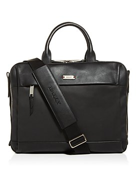 Bally - Vaud Nylon & Leather Briefcase
