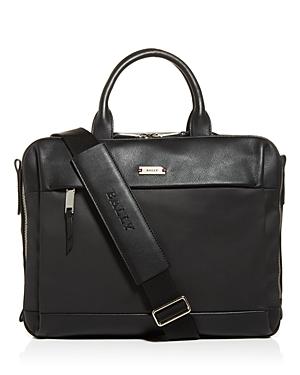 Bally Vaud Nylon & Leather Briefcase-Men