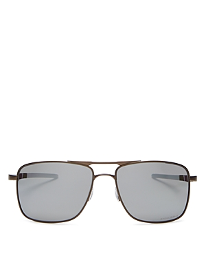 Oakley Men\\\'s Guage 6 Polarized Square Sunglasses, 57mm-Jewelry & Accessories