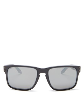 Oakley - Men's Holbrook Polarized Square Sunglasses, 57mm