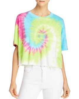 PAM & GELA - Tie-Dyed Cropped Tee
