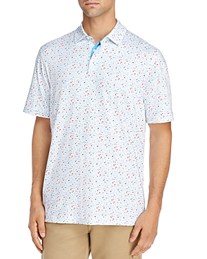 Vineyard Vines Sankaty Printed Classic Fit Performance Polo Shirt-Men