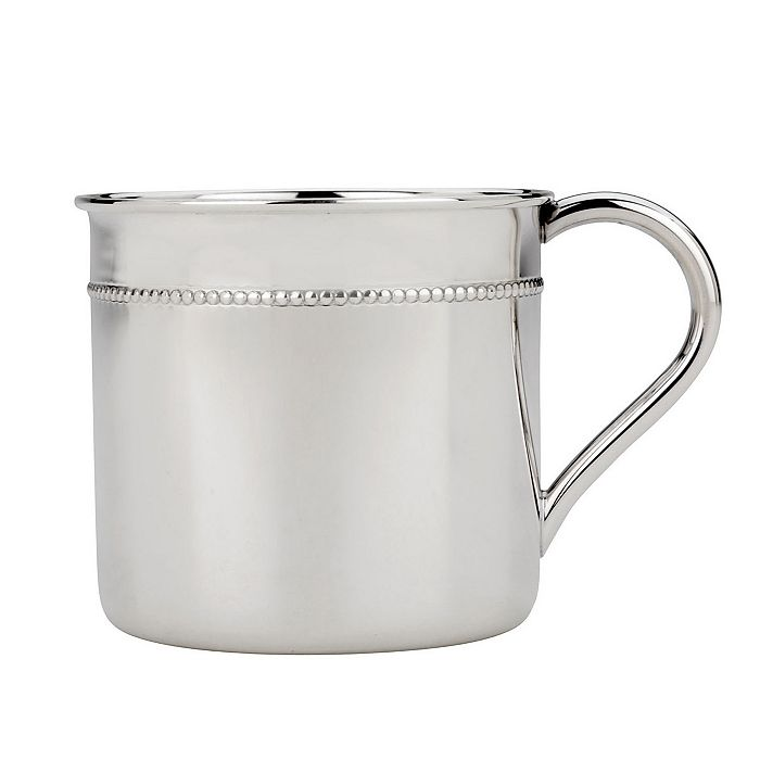 """Reed & Barton - """"Classic Bead"""" Baby Cup"""
