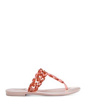 Melissa - Women's Big Chain T-Strap Sandals
