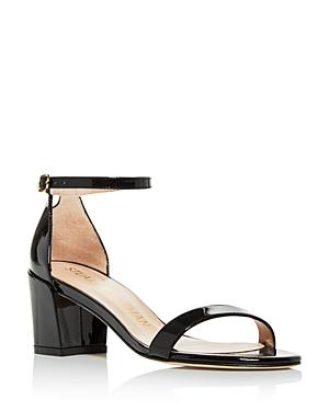 Stuart Weitzman Women\\\'s Simple Block Heel Sandals