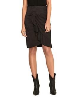 ba&sh - Susette Leather Skirt