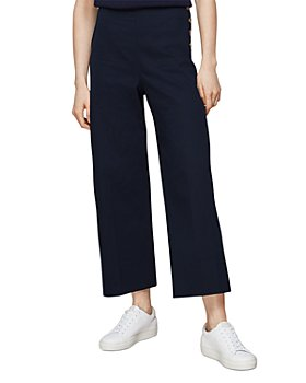 Whistles - Cadie Side-Button Trousers