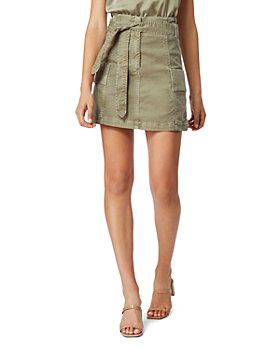 Habitual - Cotton Vidal Belted Utility Skirt