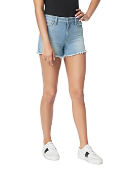 Joe's Jeans - The Ozzie Cotton Cutoff Denim Shorts in Caraway