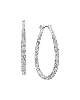 Ralph Lauren - Pavé Oval Hoop Earrings