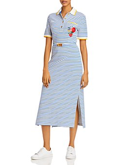 Tory Burch - Striped Polo Dress