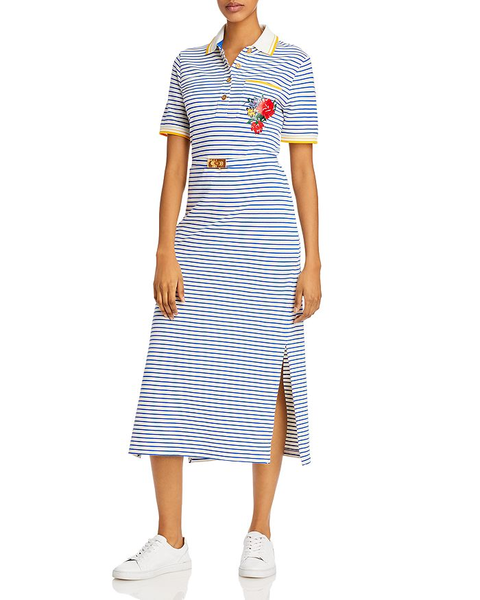Tory Burch - Striped Polo Dress
