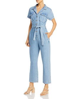 Boyish - The Westley Wide-Leg Denim Jumpsuit