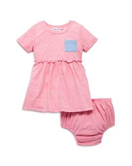 Splendid - Girls' Pocket Tee Dress & Bloomers - Baby