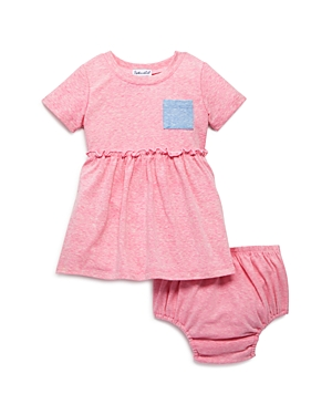 Splendid Girls\\\' Pocket Tee Dress & Bloomers - Baby-Kids
