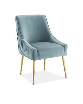 Modway - Discern Pleated Back Upholstered Performance Velvet Dining Chair