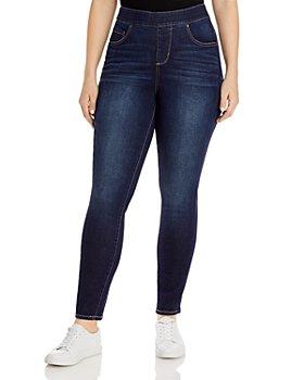 JAG Jeans Plus - Maya Skinny Jeans in Baltic Blue